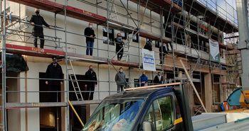 Besichtigung der Umbau- und Modernisierungsmaßnahmen am Feuerwehrhaus Niedersfeld