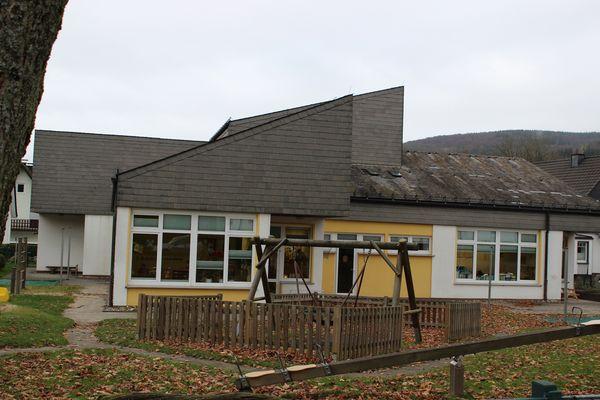Das Gebäude des Kindergartens Niedersfeld