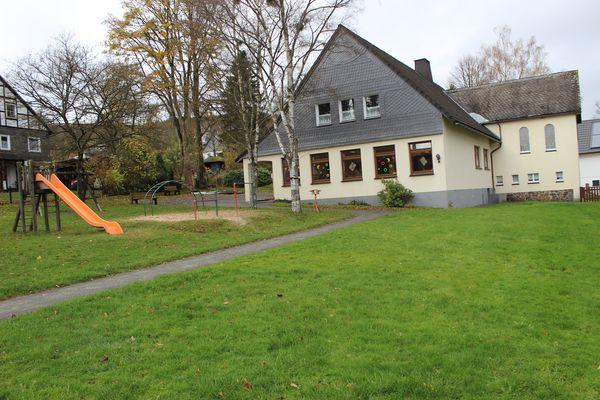 Das Gebäude des Kindergartens Grönebach